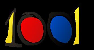 1001 logotipo de campaña